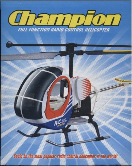 Champion Radio Control Helicopter