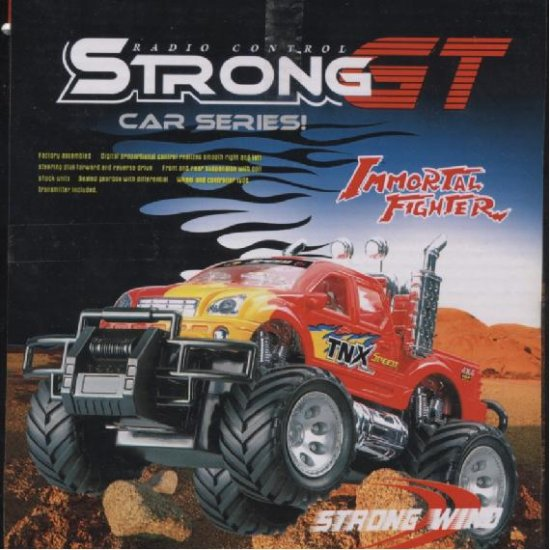 Strong GT Sport Car off Road Remote Control R/C SUV Truck  Red