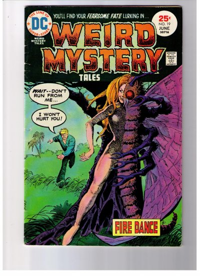 DC Super Stars WEIRD MYSTERY TALES No 19 June 1975 FIRE DANCE