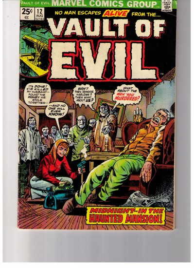 "Marvel Comics WHERE MONSTERS DWELL ""TRAGG!""  No 33 1974"