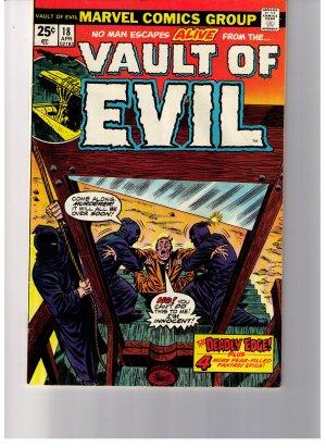 Marvel Comics Group VAULT OF EVIL Vol 1 No18 1975