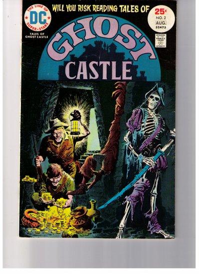 DC Super Stars Tales of the GHOST CASTLE Vol 1 No 2 1975