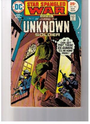 Super Stars STAR SPANGLED WAR STORIES  The Unknown Soldier No 185
