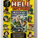 "Marvel Comics WAR IS HELL- SGT. FURY No 8 1974 ""Killed in Action"""