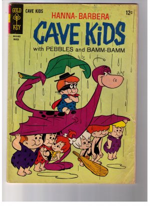 Hanna- Barbera Comic CAVE KIDS 12 c No 12 Mar 1966