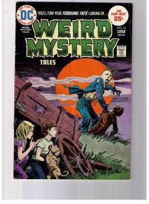 DC Super Stars WEIRD MYSTERY TALES No 16 Mar 1975 Bronze age