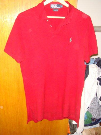 Ralph Lauren Red Polo Shirt