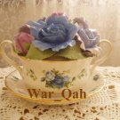 Royal Albert Limited Edition - MOONLIGHT ROSE Soup of Cup Music Box