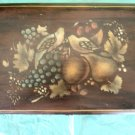 Vintage Dovetailed Painted Cedar Box