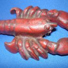 Free Shipping Vintage Pot Metal Cape Cod Maine Lobster Paperweight