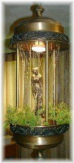 Johnson Industries Vintage Oil Rain Lamp