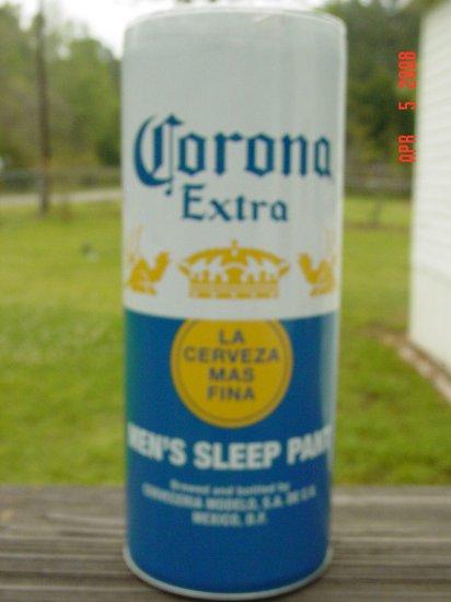 Corona Extra Men's Sleep Pant MED New Still in Can CUTE!!