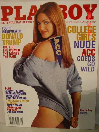 October 2004 Playboy Magazine College Girls Nude!!