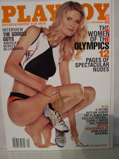 September 2004 Playboy Magazine Olympic Women!!
