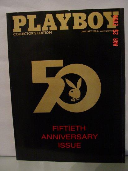 January 2004 Playboy Magazine 50th Anniversary Issue!!