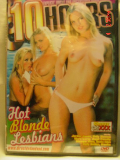 Hot Blond Lesbians 10 Hour DVD - AS LOW AS $2.33 EACH!!!