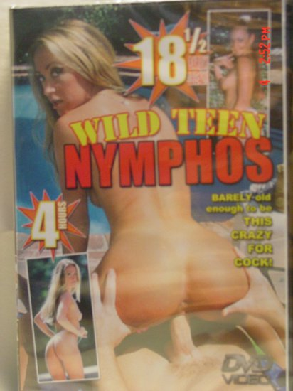 Wild Teen Nymphos 4 Hour DVD - PRICE REDUCED!!