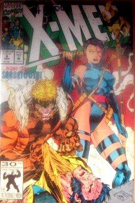 X-Men #6 ...along came Sabertooth