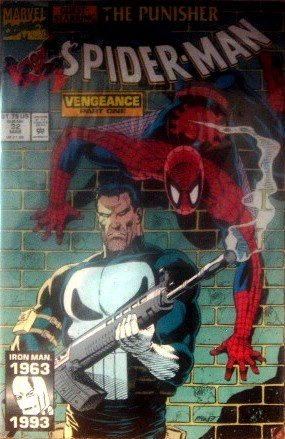 Spiderman #32 The Punisher