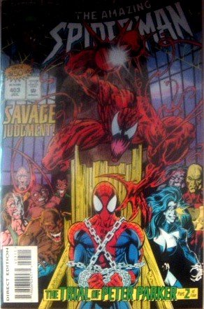 Amazing Spiderman #403 Savage Judgement