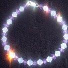 Fire Polished Glass Bracelet