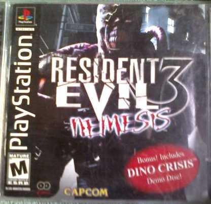 Resident Evil 3 Nemesis Playstation Game