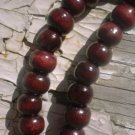 Handmade Cherry Bamboo Round Beads 7mm