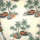 Men's Hawaiian Shirt Vintage Chevy Car  Print XL NWT