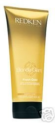 Redken Blonde Glam Fresh Gold Treatment  6.8 oz