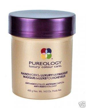 Pureology (T) Nano Luxury Hair Masque 14 oz X2
