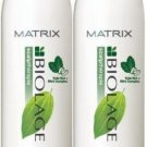 Matrix (B) Biolage Scalp Cool Mint Shampoo 33.8 oz (x2)