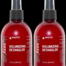 Sexy Hair BIG SEXY Volumizing Detangler 8.5 oz (x2)