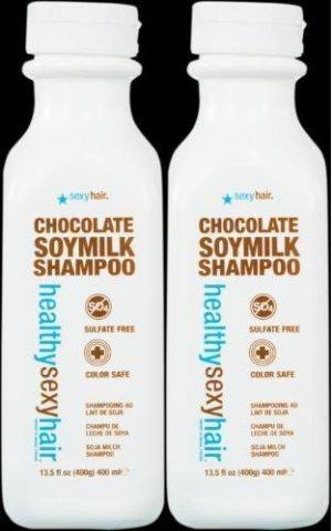 Sexy Hair HEALTHY SEXY Chocolate Milk Shampoo 13.5oz X2