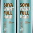 Sexy Hair HEALTHY SEXY Soya Want Full Spray 9.1 oz (x2)