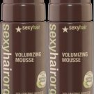 Sexy Hair ORGANICS Volume Mousse 5.1 oz (x2)