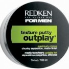 Redken (M) Mens Outplay Putty 3.4 oz (x2)