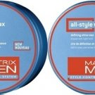 Matrix (M) Mens All Style Wax Defining Shine 1.7 oz(x2)