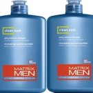 Matrix (M) Mens Clean Rush Daily Shampoo 13.5 oz (x2)