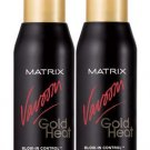 Matrix (V) Vavoom Gold Heat Blow-In Control Serum (x2)