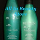 Redken (FC) Fresh Curls Shampoo & Conditioner (Small)