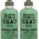 TIGI (BH) Bed Head Control Freak Serum 9 oz X2