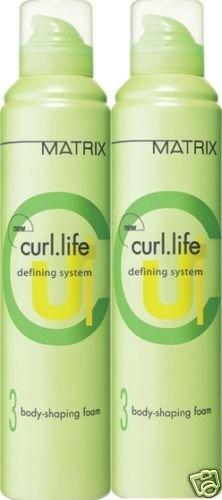 Matrix (CL) Curl Life Shaping Foam 9.1 oz (x2)