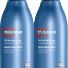 Matrix (M) Mens Thick Blast Thickening Spray 8.5 oz X2