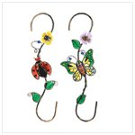 Butterfly and Ladybug Hangers