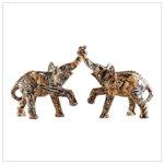 Entwined Elephants