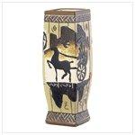 Asian Glyph Vase