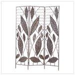 Bamboo Leaf Design Divider Screen