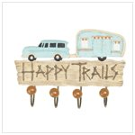 'Happy Trails' Wall Hook