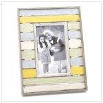 Distress Stripes Photo Frame