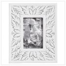 4 X 6 Inch White Distressed Frame